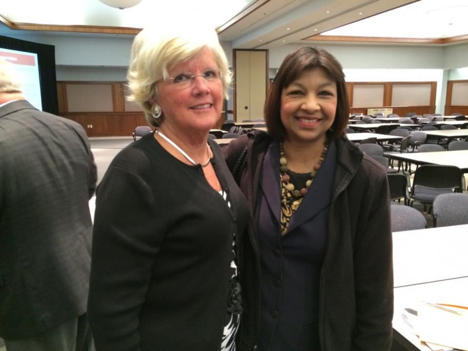 Katherine Connelly Former Executive Director of MREC and Cindy Sinanan