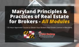 Maryland real estate Broker license classes online